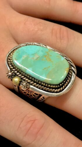 1930s 40s 50s 60s Native American Turquoise Indian Arrow Head Southwestern