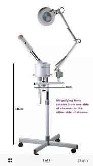 Facial Steamer with Magnifying Lamp Lynbrook Casey Area Preview
