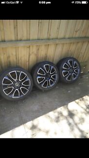 18 inch Holden mags wheels pdw 3 only