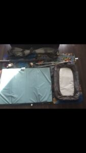 Graco Pack n' Play play pen with bassinet