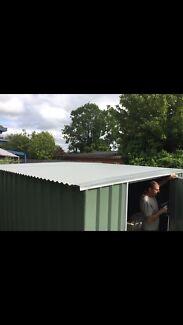 3x4 meter garden shed