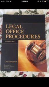 Legal office procedures: sixth edition Tina kamakaris