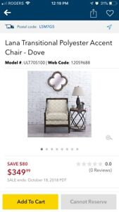 BRAND NEW ACCENT CHAIR!!!
