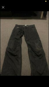 RST motorcycle jeans with knee pads