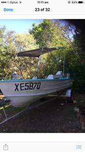 Boat and trailer Caboolture Caboolture Area Preview