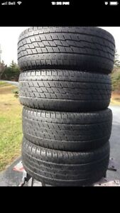 255/60/18 TIRES.