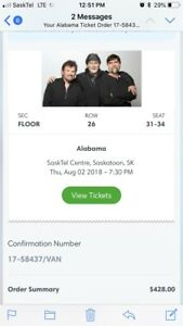 Alabama tickets