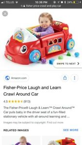 Looking for a fisher price crawl and play car