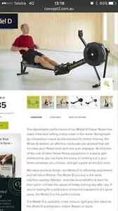 Concept 2 D model rower Bayview Darwin City Preview