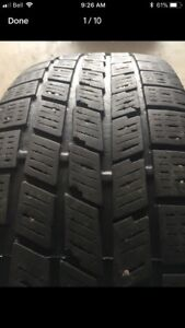 """4  - 15"""" WINTER TIRES ON RIMS TO FIT 1997-2004 HONDA CIVIC"""