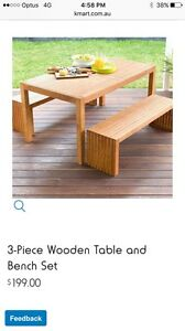 Kmart wooden table or one like this Upper Coomera Gold Coast North Preview