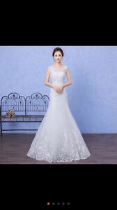 Brand new wedding dress for less price
