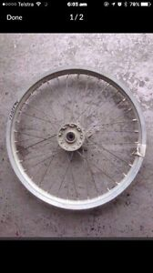 Yamaha YZ125 '94 Front Wheel  Very good condition Gosford Gosford Area Preview