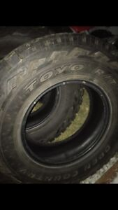 Toyo Open Country R/T 285/75r18 (set of 4)