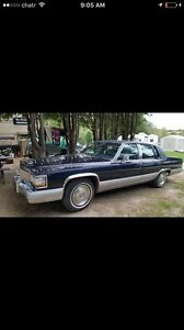 Looking for Cadillac brougham 1990-1992 mint condition only.