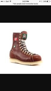 Canada West Ironworker boot
