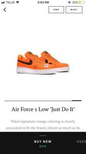 "Air force 1 ""Just do It"""
