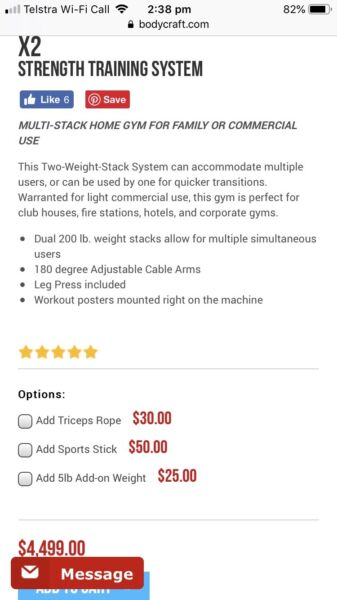 Body craft commercial gym | Gym & Fitness | Gumtree