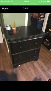 Two side tables or nightstands
