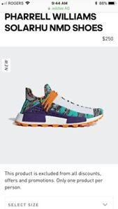 Pharell Williams Nmd shoes