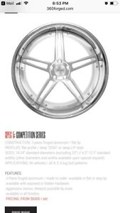 360 Forged Wheels and Toyo Proxes T1 Sport Tires
