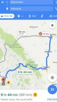 Rideshare or moving from Edmonton to Kelowna & back