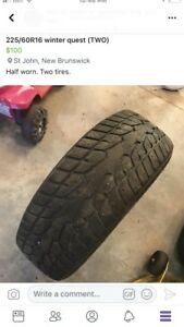 225/60R16 Winger Quest (two tires)