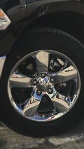 20 inch Dodge Ram rims with tires