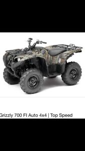 C&C cycles parting out 2013 Yamaha grizzly 700
