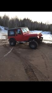 1992 yj HAS TO GO 2000 OBO