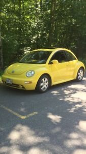 Parting out Volkswagen New Beetle