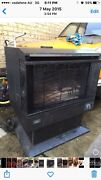 Fake log natural gas combustion heater St Agnes Tea Tree Gully Area Preview