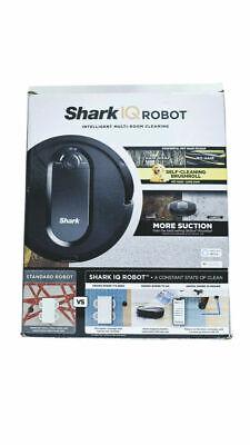 Shark IQ Robot App-Controlled Robot Vacuum, RV1001 Black Without Auto-Empty dock