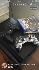 PS4 Slim without box - Superb Condition.