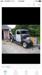 1940 Chevy Half Ton Project.