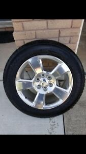 20inch Chevy wheels