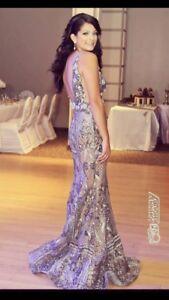 Haute couture ALFABETA gown