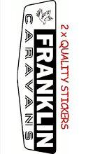 Caravan Replacement Sticker/Decals Viscount Jayco Millard Franklin Karalee Ipswich City Preview