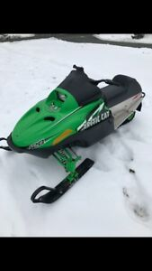 YOUTH SNOWMOBILE IN EXCELLENT CONDITION