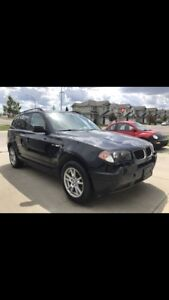 2006 BMW X3 2.5i All Wheel Drive!