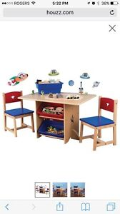 Our Star Table and 2 Chair Set  London Ontario image 1