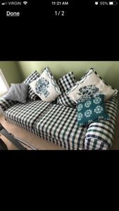 Plaid couch for sale