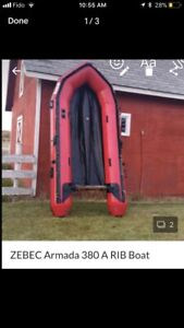 Zebec Inflatable Boat