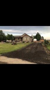 Gravel, recycled asphalt, limestone, crusher run