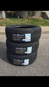 "Royal Black winter tires from sizes 14"" to 18""all 30% off"