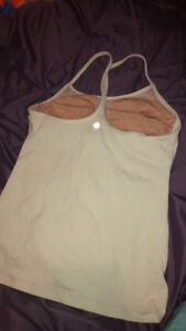 Size 6 lulu lemon tank top
