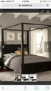 Ashley Furniture canopy bed