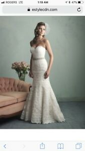 Allure bridal lace wedding gown style 9157