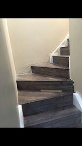 Hardwood, laminated, engineers, vinyl flooring installing  Edmonton Edmonton Area image 5