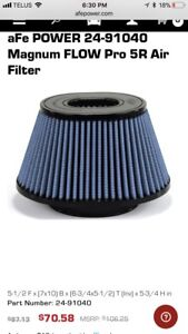 Air filter for afe cold air intake
